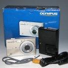 Olympus FE-3000 10.0MP Digital Camera - Titanium #1366
