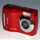 Kodak EasyShare C122 8.1MP Digital Camera - Red #8261