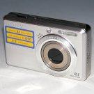 Sony Cyber-shot DSC-780 8.1MP Digital Camera - Silver #6639