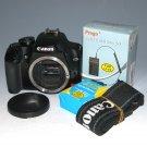 Canon EOS Rebel XS 10.1MP Digital SLR Camera - Black (Body Only) #3354