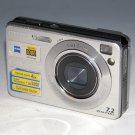 Sony Cyber-shot DSC-W120 7.2MP Digital Camera - Silver #5090