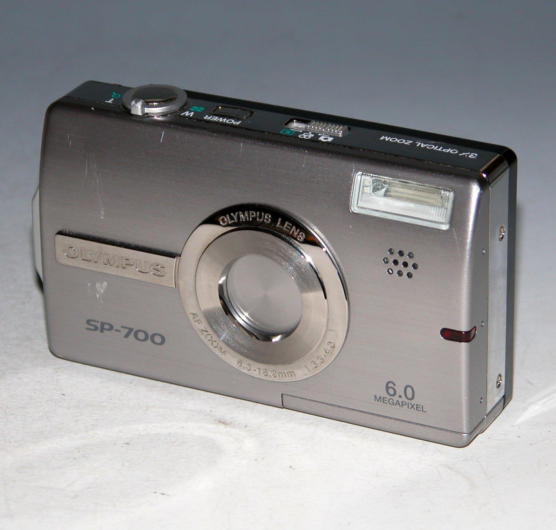 Olympus SP-700 6.0MP Digital Camera - Silver #1632
