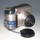 Olympus CAMEDIA C-720 Ultra Zoom 3.0MP Digital Camera - Silver #0881