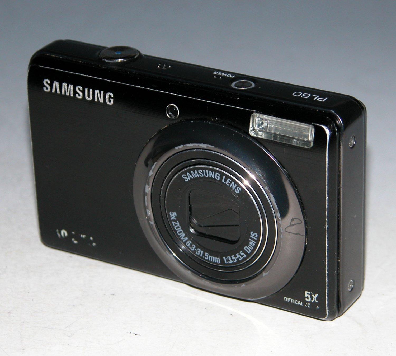 Samsung PL60 10.2MP Digital Camera - Black  #9971