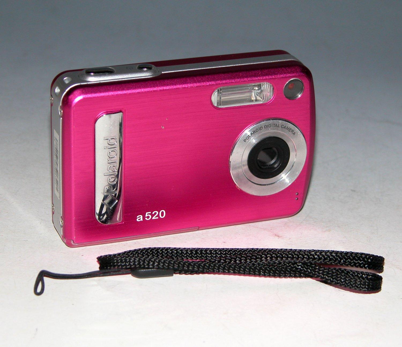 Polaroid A520 5.0MP Digital Camera - Pink