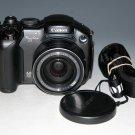 Canon PowerShot S3 IS 6.0MP Digital Camera - Black #2023