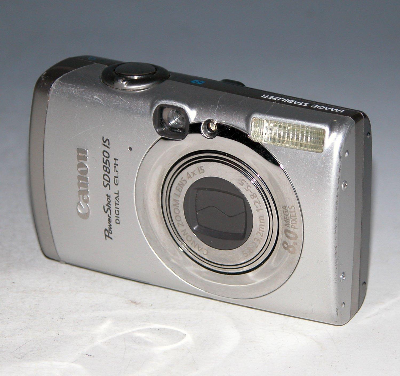 Canon PowerShot SD850 IS 8.0MP Digital Camera #8696