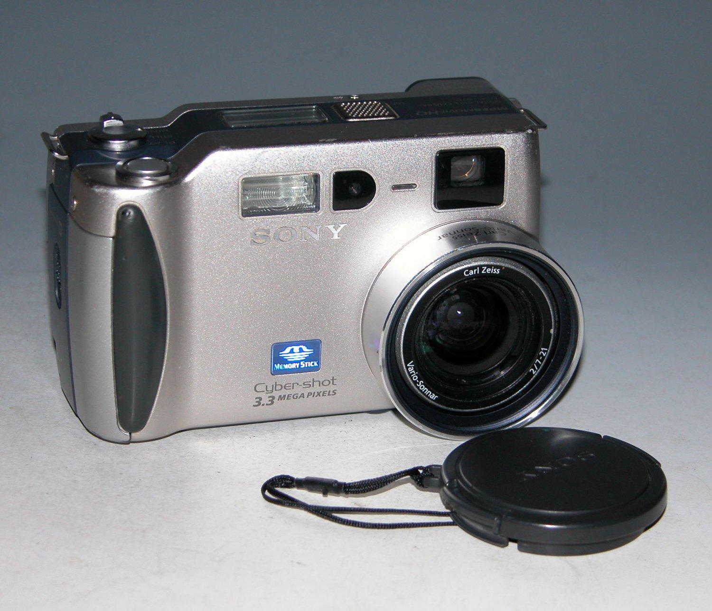 Sony Cyber-shot DSC-S70 3.2MP Digital Camera - Silver #3378