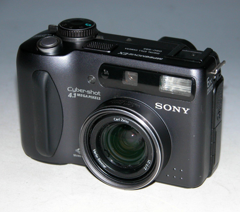 Sony Cyber-shot DSC-S85 4.1MP Digital Camera - Black #6053