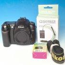 Nikon D50 6.1 MP Digital SLR Camera(Body Only) #0591 ** Only 7695 Clicks **