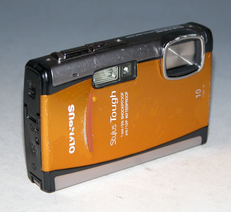 Olympus Stylus Tough-6000 10.0MP  Digital Camera - Orange #4625