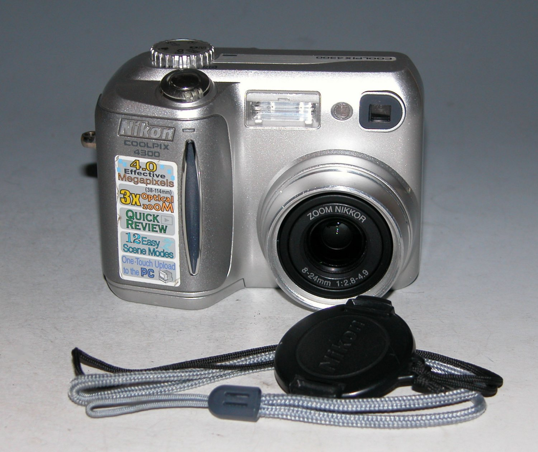 Nikon COOLPIX 4300 4.0MP Digital Camera - Silver #3658