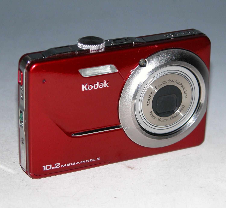 Kodak EasyShare M340 10.2MP Digital Camera - Red  #0870