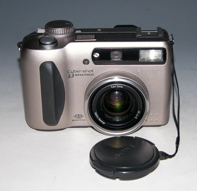 Sony Cyber-shot DSC-S75 3.3MP Digital Camera #0691