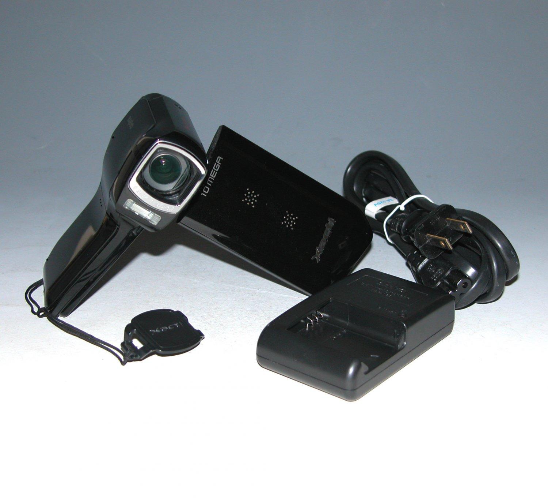 Sanyo Xacti CG10 Dual Camera HD Flash Memory Camcorder - Black