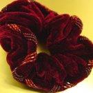 red Velvet Beaded Scrunchy 1HA3002799