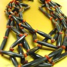 Natural Petrified Wood Beads Neck Set 1N10876