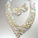 Silver Clear AB Rhinestone Crystals Set 1N4001346
