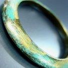 Black Blue Gold Marble Bangle Bracelet 1B0804853