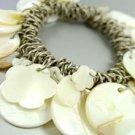 Natural Sea Shells Cha Cha Bracelet 1B2576556