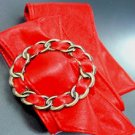 Red Antique Buckle Wrap Belt 1BTB0012432