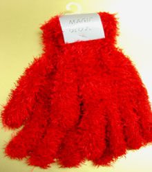 Red Soft Elastic Magic Glove 1GLOVE4338