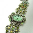 Green Crystals Antique Victorian Watch Replica 1W353259