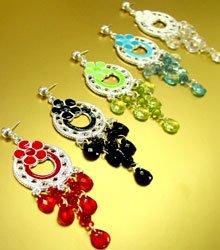 Dozen Color Chandelier Earrings  1DE4001603