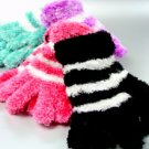 Dozen Assorted Striped Magic Gloves  1ETB8503