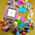 Multi Pearls Beads Shells Cha Cha Watch