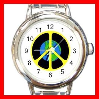 Peace on Earth Italian Charm Wrist Watch 010