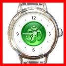 OM Symbol Green Italian Charm Wrist Watch 011