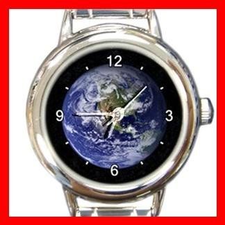 The Blue Marble Italian Charm Wrist Watch 015