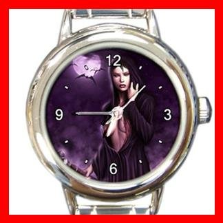 Gothic Witch Italian Charm Wrist Watch 021