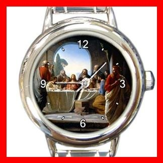 The Last Supper JESUS CHRIST Italian Charm Wrist Watch 026