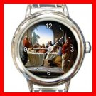 The Last Supper JESUS CHRIST Italian Charm Wrist Watch 026
