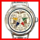 Order of the Eastern Star Italian Charm Wrist Watch 029
