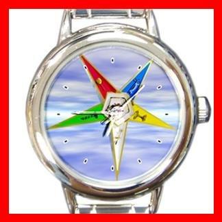 Order of the Eastern Star Italian Charm Wrist Watch 030