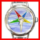 Order of the Eastern Star Italian Charm Wrist Watch 030