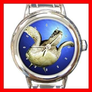 Green Sea Turtle Hawaii Italian Charm Wrist Watch 031
