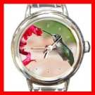 Humming Bird Italian Charm Wrist Watch 032