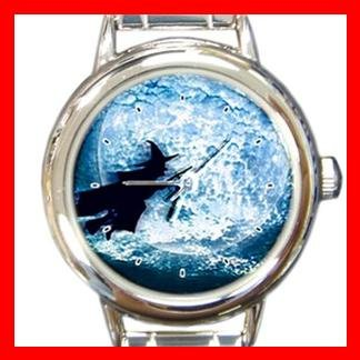 Halloween Witch Italian Charm Wrist Watch 057