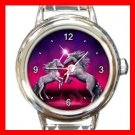 Unicorn Dance Myth Fantasy Italian Charm Wrist Watch 063