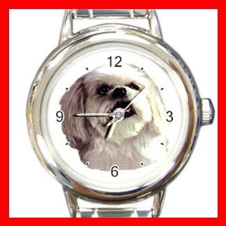 Lhasa Apso Dog Pet Italian Charm Wrist Watch 077