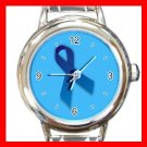 Blue Ribbon Italian Charm Wrist Watch 081
