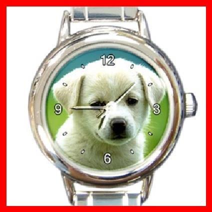 Cute Puppy Dog Italian Charm Wrist Watch 093