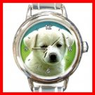 Cute Puppy Dog Italian Charm Wrist Watch 093