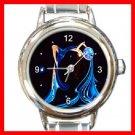 Aquarius Zodiac Italian Charm Wrist Watch 098