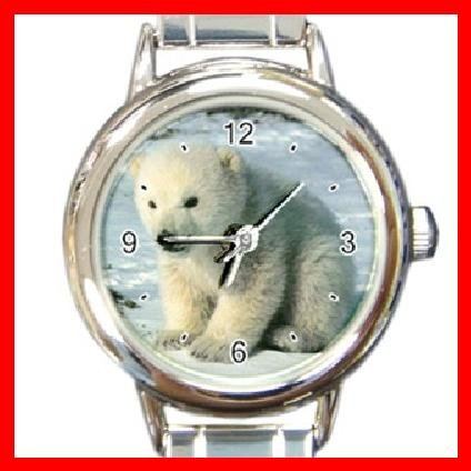 Cute Polar Bear Italian Charm Wrist Watch 101