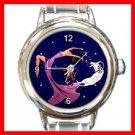 Capricorn Zodiac Italian Charm Wrist Watch 102